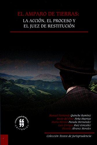 El amparo de tierras: la acción, el proceso y el juez de restitución (Textos de Jurisprudencia nº 1)