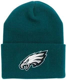 Reebok Team Color Cuff Beanie Hat - NFL Cuffed Football Winter Knit Toque Cap