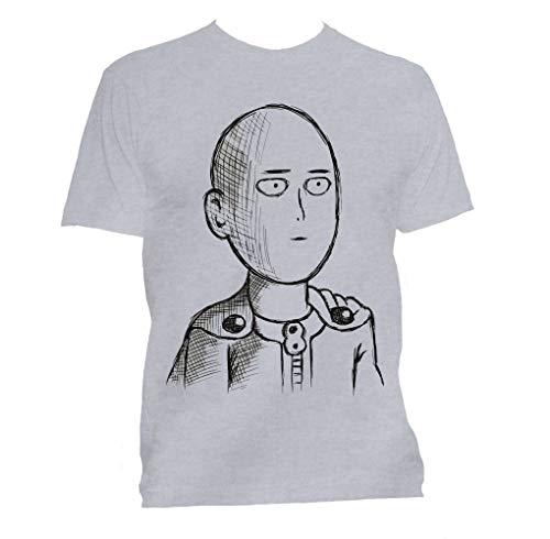 Camiseta one punch Man Saitama