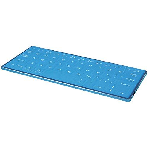 Antarctica TI004 Typhoon Antarctica Bluetooth Tastatur mit Gummibeschichtung - TI004 Keying Devices blau