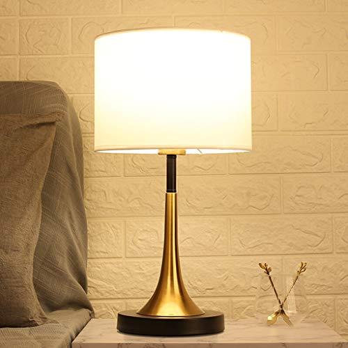 OMIDM Lámpara de Mesa Lámpara de Escritorio de la Sala de Estar de Lujo Retro lámpara de Mesa de Estilo Europeo Dormitorio lámpara de cabecera Tabla Lado de la lámpara Lámpara de Mesa de Cristal