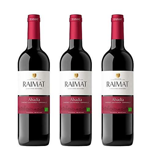 Raimat | Vino Tinto Raimat Abadia Ecologico 2018| D.O. Costers del Segre | Caja de 3 botellas de 75 cl