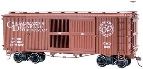 para barato On30 Spectrum Ventilated Box, Box, Box, C&D by Bachmann Trains  Disfruta de un 50% de descuento.