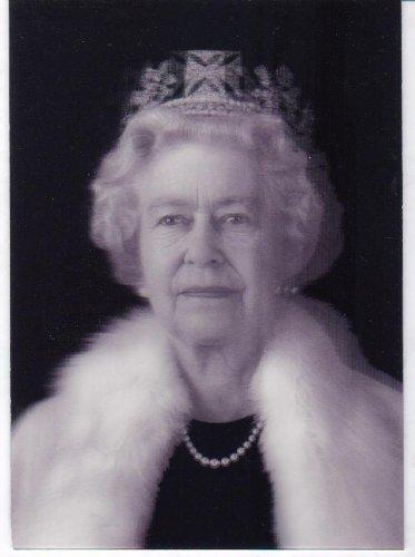 Queen Elizabeth Poster, Lenticular Print