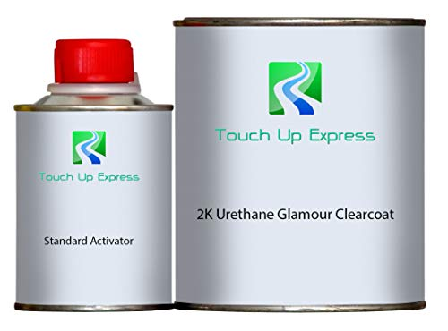 Touch Up Express Quart 2k Urethane Glamour Clearcoat with Standard Activator