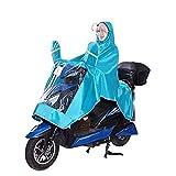 Set impermeabile impermeabile Bicicleta al aire libre equipo Be applicable compatible for la lluvia doble pegamento de la motocicleta ropa impermeable Mat bicicletas poncho capa de lluvia Ciclismo cub