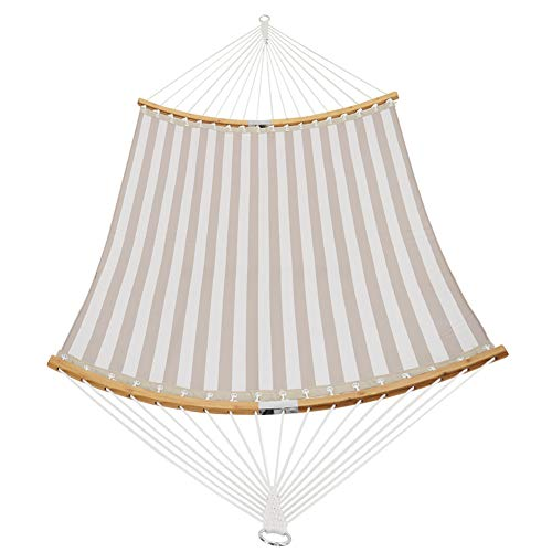 Patio Watcher 14 FT Quick Dry Hammock Folding Curved Bamboo Spreader...
