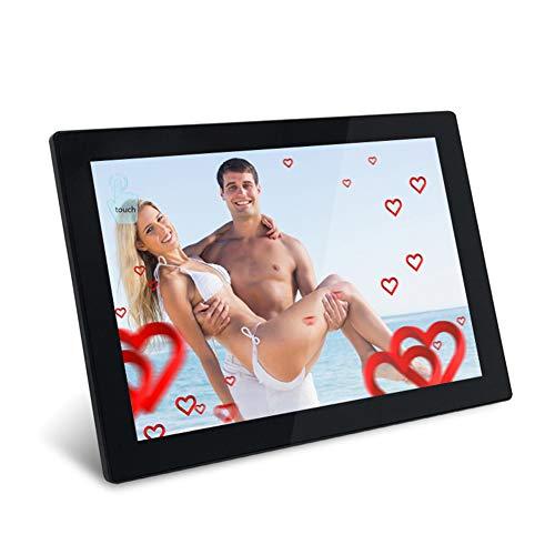 ZHANGXJ Digitaler Bilderrahmen Smart WiFi 10.1 Zoll, HD IPS Auflösung 10920×800, per APP Teile und Empfange Bilder und...
