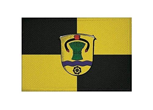 U24 Aufnäher Schrecksbach Fahne Flagge Aufbügler Patch 9 x 6 cm