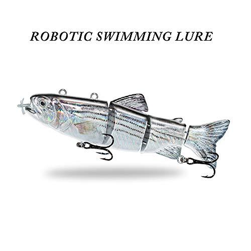 Ods Lure Robotic Natación Señuelo USB Recargable Luz LED