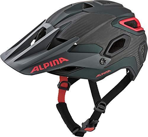 ALPINA ROOTAGE Fahrradhelm, Unisex– Erwachsene, seamoss, 57-62