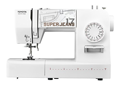 Toyota SUPERJ17W Jeans Free-Arm Sewing Machine with 17 Programmes Denim Function