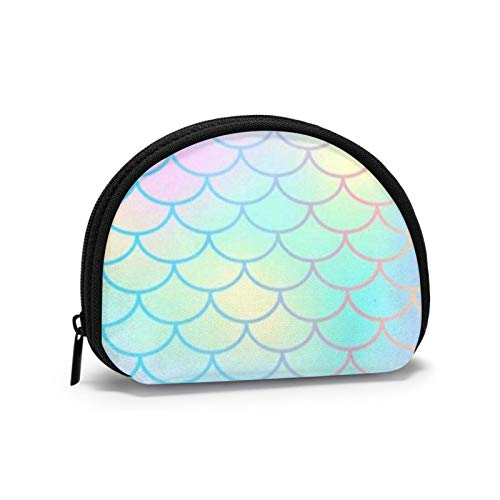 Fischschuppen Magic Mermaid Frauen Mädchen Shell Kosmetik Make-up Aufbewahrungstasche Outdoor-Shopping-Münzen Wallet Organizer