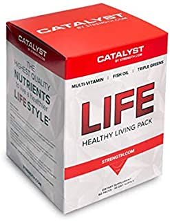 Life Box Daily Multivitamin Supplement - With Omega 3 Fish Oil Capsules and Triple Super Greens - Easy to Swallow and will not Upset Your Stomach - Promotes Brain, Heart and Eye Health (30 Day Supply)