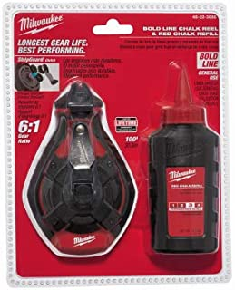 MILWAUKEE ELEC TOOL 48-22-3986 Bold Line Chalk Reel
