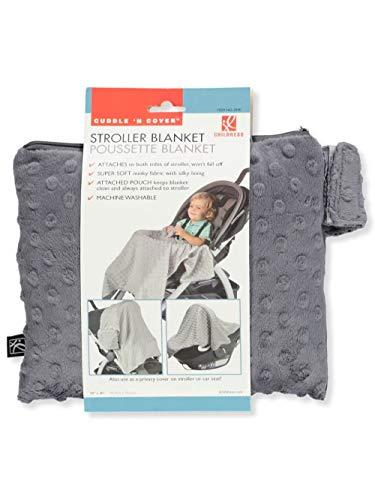 J.L. Childress Cuddle 'N Cover Stroller Blanket, Grey