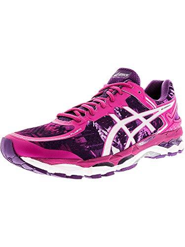 ASICS Damen Gel-Kayano 22 Laufschuh, (Lila/Silber/Pink Glow), 37 EU