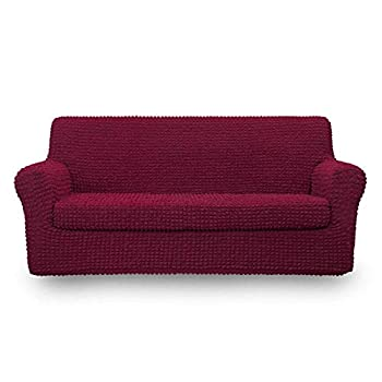 red sofa slipcovers clearance