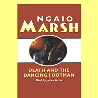 Death and the Dancing Footman audiobook cover art