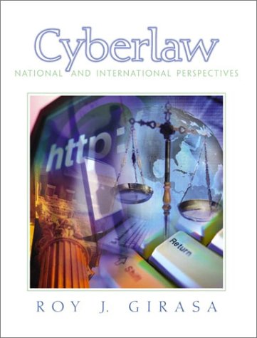 Cyberlaw: National and International Perspectives