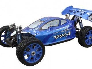 VRX-2E Buggy Elettrico Brushless con Batteria Lipo 11,1V e Radio 2.4gHz in Scala 1/8 4WD RTR