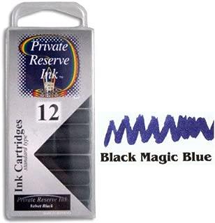 Private Reserve Black Magic Blue Ink Cartridges