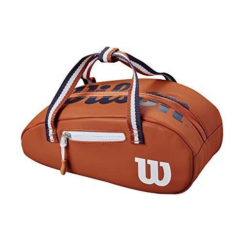 Wilson Unisex Adult Roland Garros Mini Tour Bag Sporttasche, Clay/White, Einheitsgröße EU