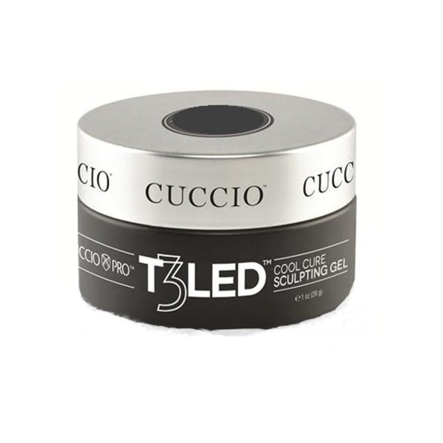 する必要があるダウン差し迫ったCuccio Pro - T3 LED/UV Self- Leveling Gel - Pink - 2oz / 56g