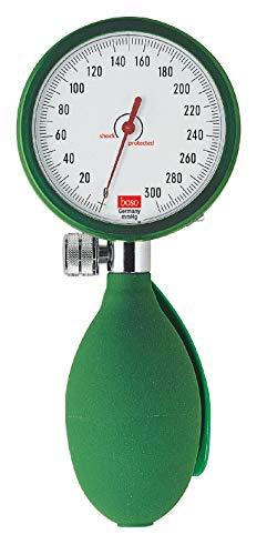 boso dbclin01_ V Blutdruckmessgerät clinicus I, Klettmanschette Erwachsene, 60mm Durchmesser Zifferblatt, grün