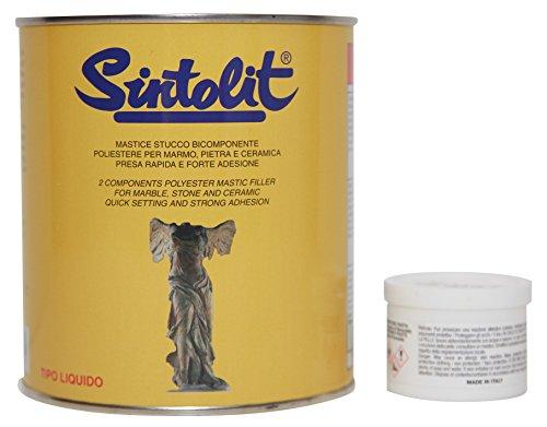 SINTOLIT Mármol Blanco Líquido 1PZ Unidades 750 ML