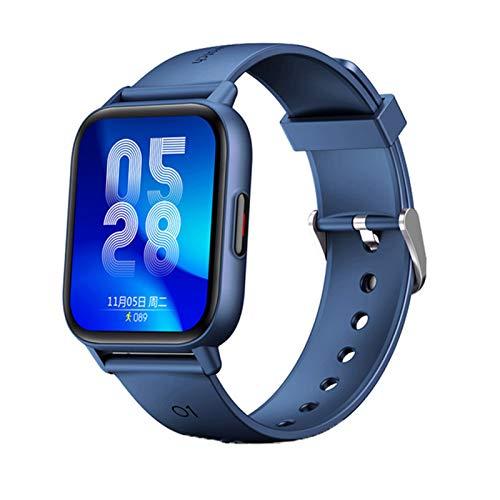 QLK Relojes Inteligentes, Ritmo Cardíaco, Presión Arterial, Pulseras De Acondicionamiento Físico para iOS Android, Smartwatches De Deportes Impermeables para Hombres Y Mujeres,B