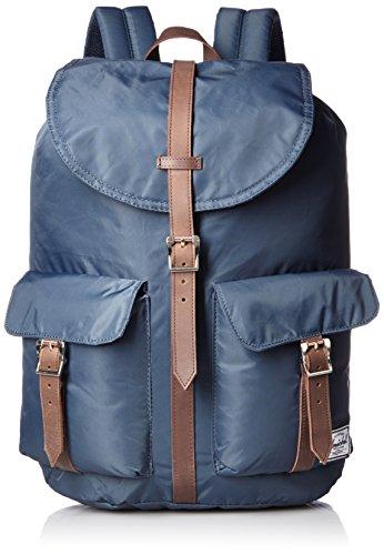 Herschel Dawson Sac à dos unisexe pour adulte 20,5 l - Bleu - Bleu marine/marron,