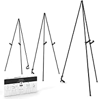 3-Pack Arteza Black Steel Display Easel