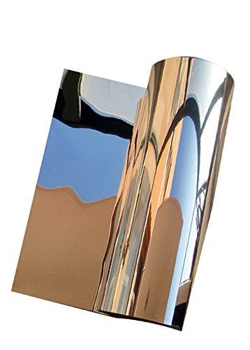 貼る鏡 割れない鏡 ミラー シール シート ウォール ステッカー 鏡 鏡 全身 壁紙 飛散防止 反射板 レフ版… (50x100cm)