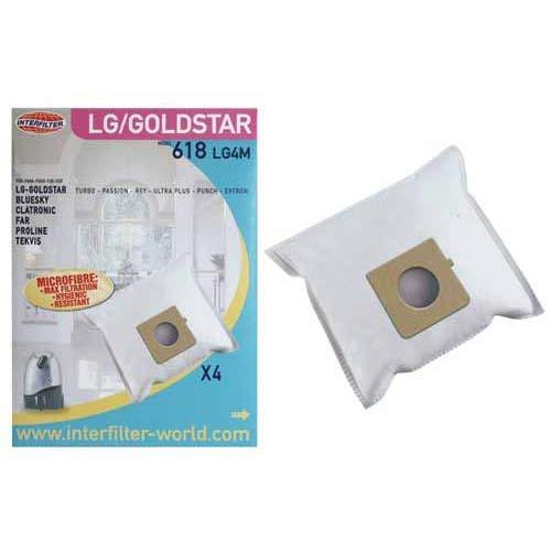 Bolsita de bolsas de aspirador LG vcd604 referencia: 35600734 para ...