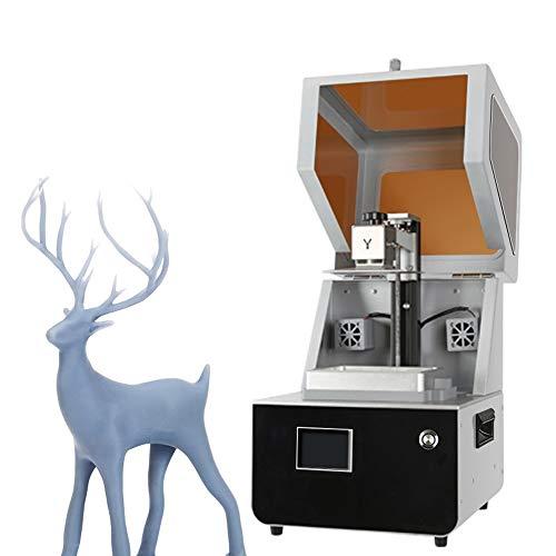 QPLNTCQ Imprimante 3D LCD Imprimante 3D Assemblé Innovation Grand écran 2,8 '' Smart Touch Impression Hors Ligne 4.72