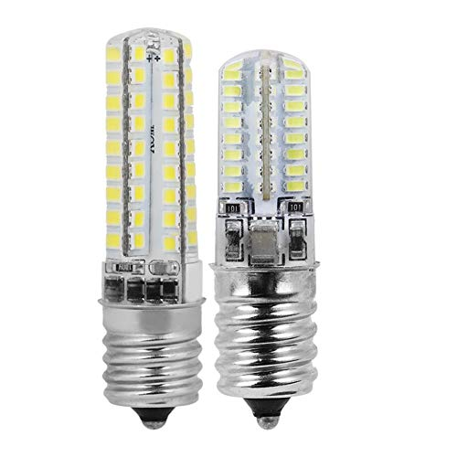 Riuty Bulbos de lámpara de maíz, 220V Super Brillante Miniatura LED Bombillas de luz Cápsula Protección del Medio Ambiente PS Bulbo de maíz para el Patio Trasero Sótano Granero(Warm Light 3w 64led)