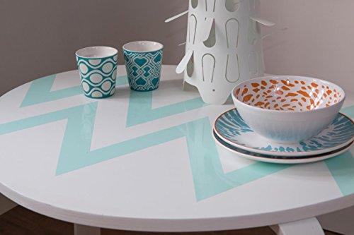 d-c-fix Folie, Design uni Lack Mint, selbstklebend, Rolle 45cm x 2m