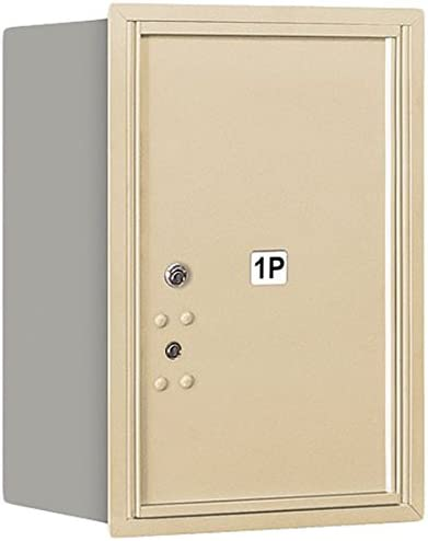 Salsbury Industries 3706S-1PSRP Recessed Finally resale start 4C Parcel Mounted Easy-to-use Locke