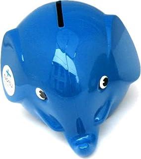 Norsu エレファントバンク 貯金箱 (S) ブルー