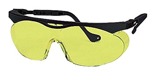 Uvex 9195/720 Skyper Sonnenbrille, bernsteinfarben, 2 Stück