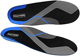 Plantar Fasciitis Feet Insoles Arch Supports Orthotics Inserts Relieve Flat Feet, High Arch, Foot Pain Mens 7-7 1/2 | Womens 9-9 1/2