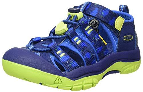 KEEN Newport H2 Closed Toe Water Shoe Sandal, Blue, 5 US Unisex Big Kid
