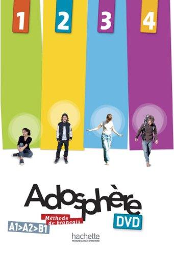 Adosphère 1 – 2 – 3 – 4 : DVD NTSC