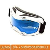NAVIGATOR Zeta - Mascherina da Sci/Snowboard, Doppie Lenti polarizzate, UV400