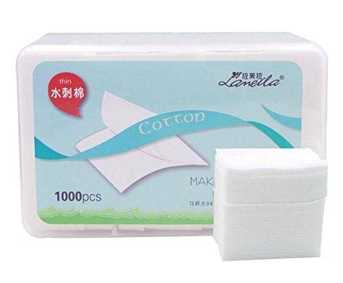 Rembourrage de maquillage Coussinets de coton cosmétiques 1000pcs