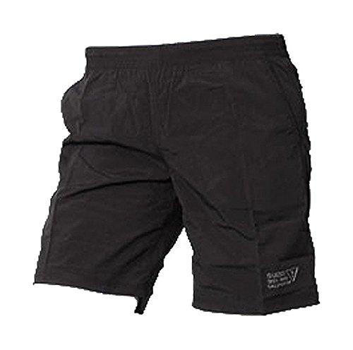 Guess - Guess Jeans: Maillot de bain Homme noir Style bermuda (L)