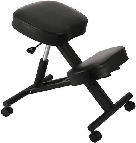 LAL6 Hopopular Ergonomischer Kniender Stuhl Justierbarer Kniender Schemel Starke Bequeme Kissen Für Das Büro-Haus, Das Den Körper Formt Rückenschmerzen Schreibtisch-Computer-kniender Schemel-Stuhl