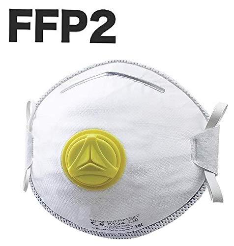 Masque de Protection respiratoire FFP2 - avec Valve - Masque respiratoire - Masque respiratoire -...