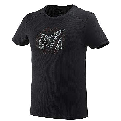 MILLET - Tee Shirt Manches Courtes M Logo 2 Black - Noir - Homme - Taille s - Noir